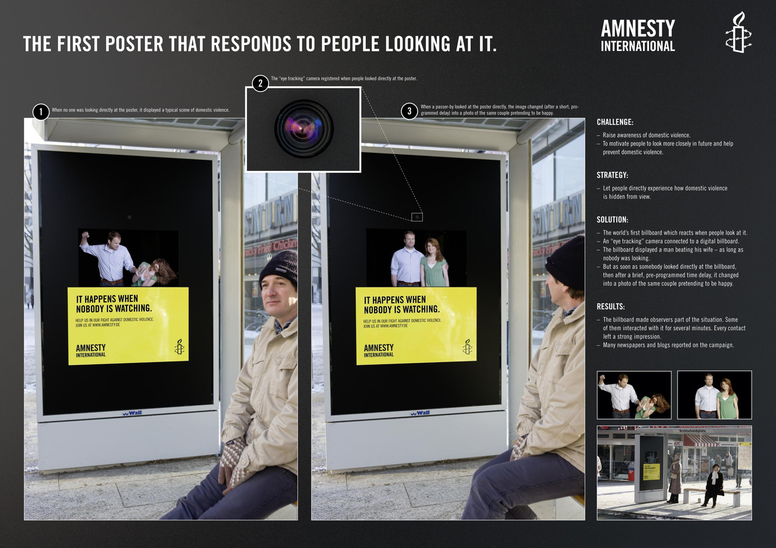 Amnesty International Guerilla Busstation