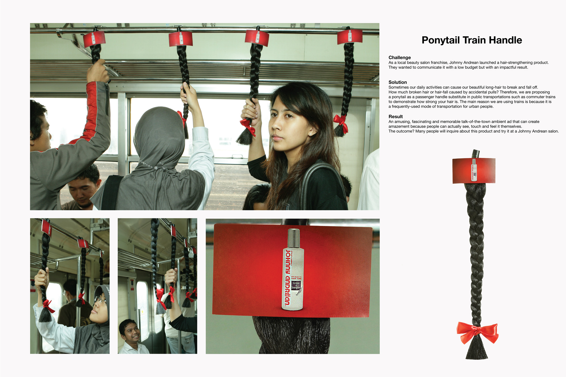 Guerilla Marketing Ponytrail Train Handle